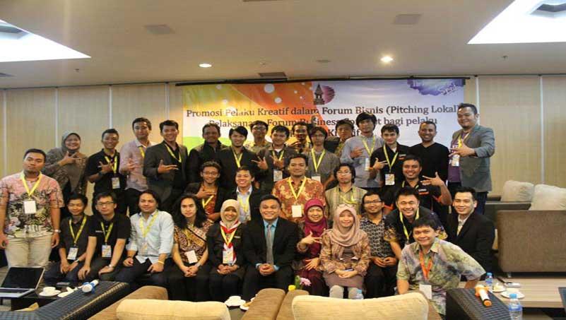 Promosi Pelaku Kreatif dalam Forum Bisnis